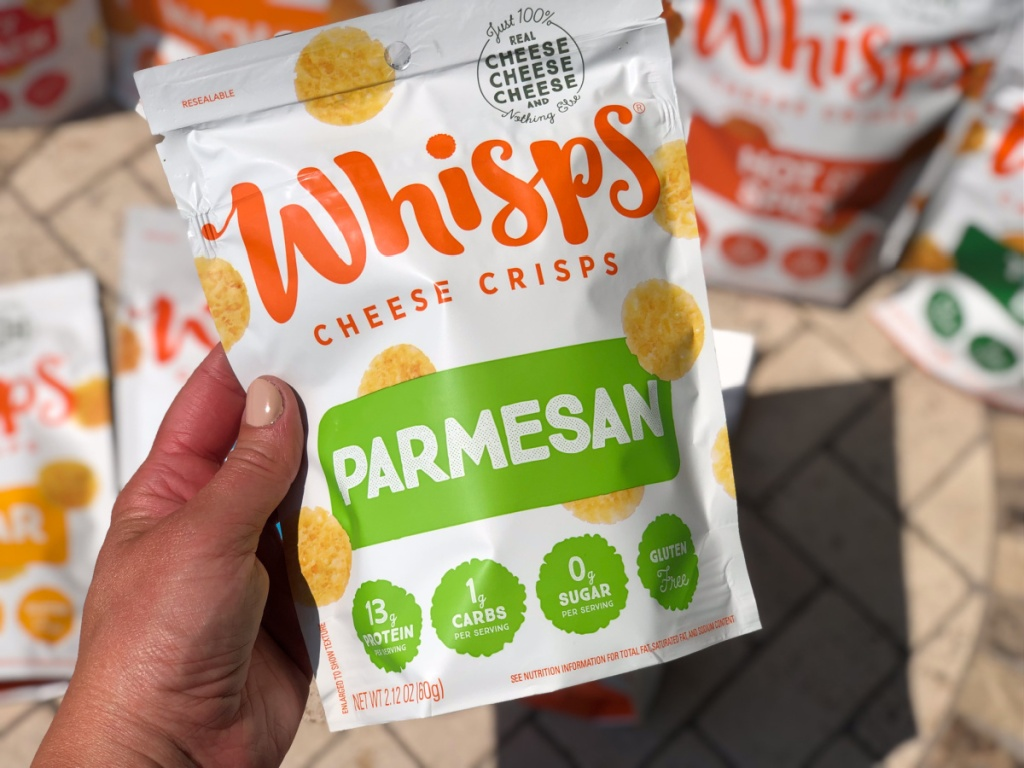 whisps cheese crisps parmesan