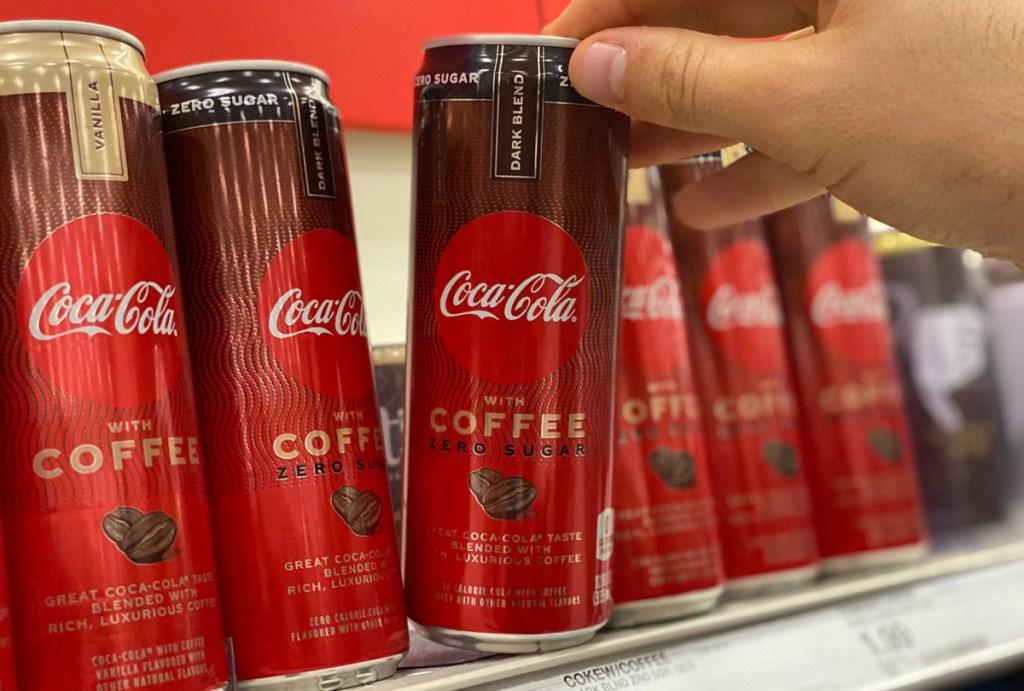 coke zero sugar coffee coca cola