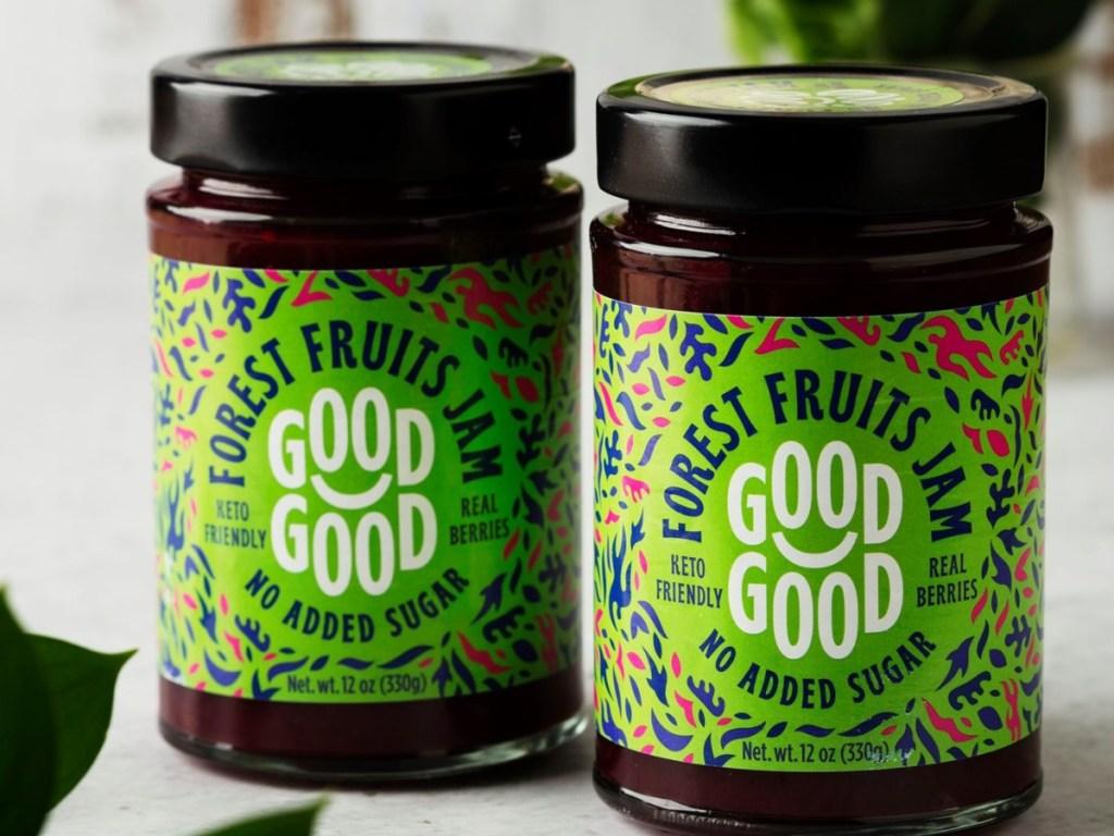 2 jars of Forest Fruits Jam
