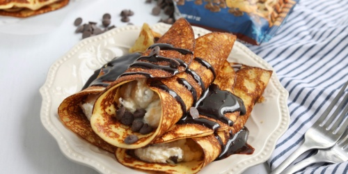 Keto Crepes with Cannoli Filling – Brunch Just Got an Upgrade!