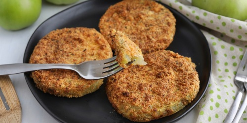 Crispy Keto Fried Green Tomatoes in the Air Fryer