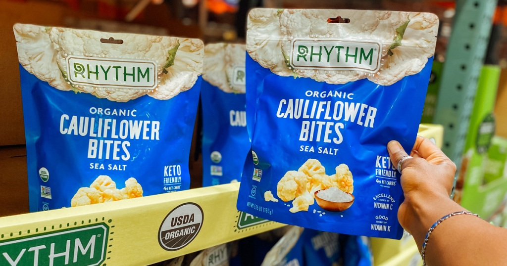 rhythm cauliflower bites