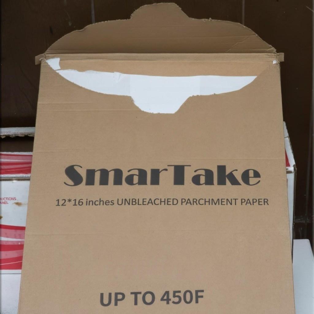 box of parchment paper