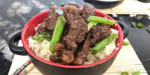 Skip Takeout and Make Easy Keto Crockpot Mongolian Beef Instead!