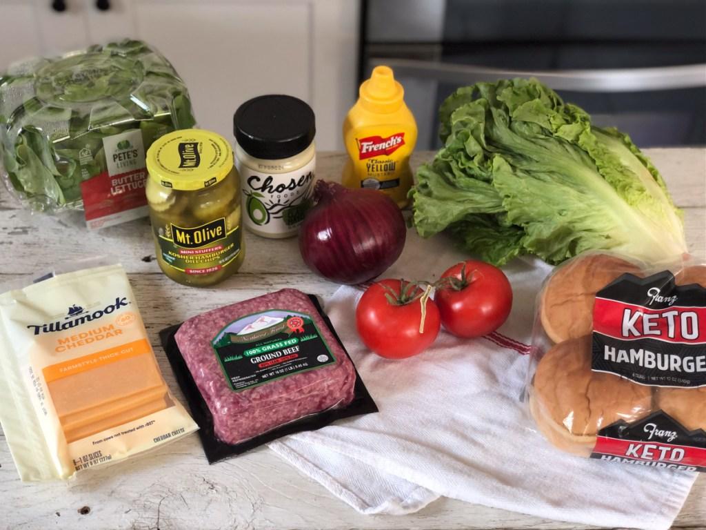 smash burger recipe ingredients