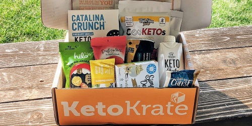 The August Keto Krate is Here and Filled With $42 Worth of Keto Goodies (Score $10 Off + Free Shipping)