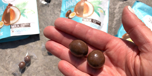 Introducing Keto Milk Chocolate Coconut Double Dipped Almonds – Thank You ChocZero!