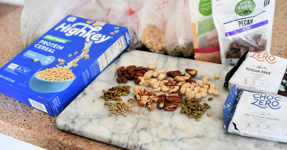 ingredients to make keto trail mix