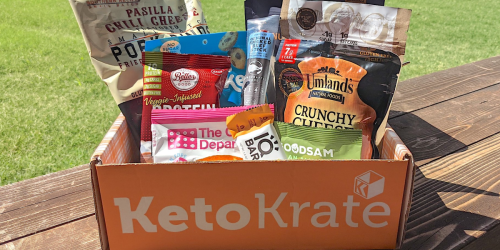 Keto Krate Boxes are Filled With the Best Low-Carb Snacks (Score $10 Off + Free Shipping)