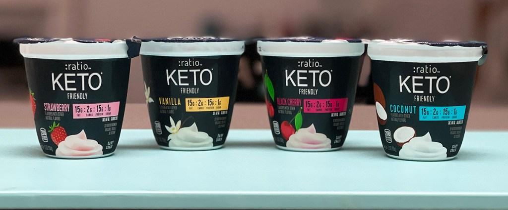ratio keto yogurt