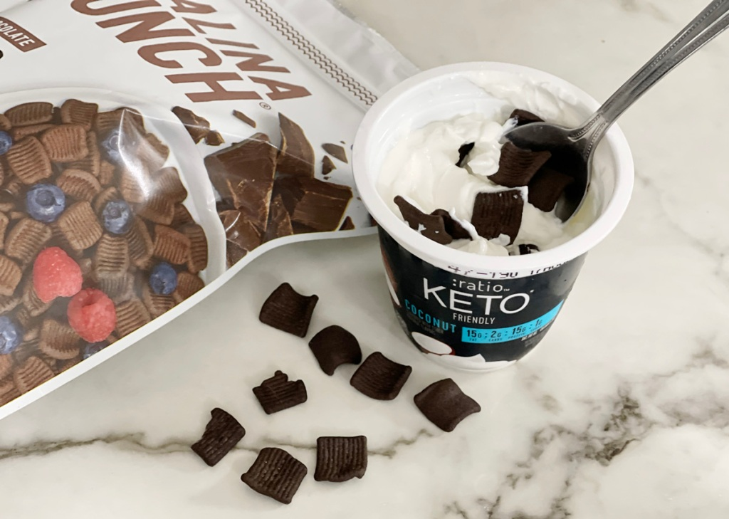 ratio keto yogurt coconut