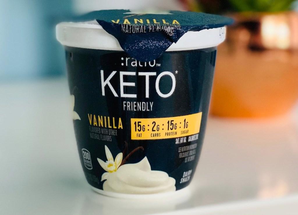 ratio vanilla yogurt