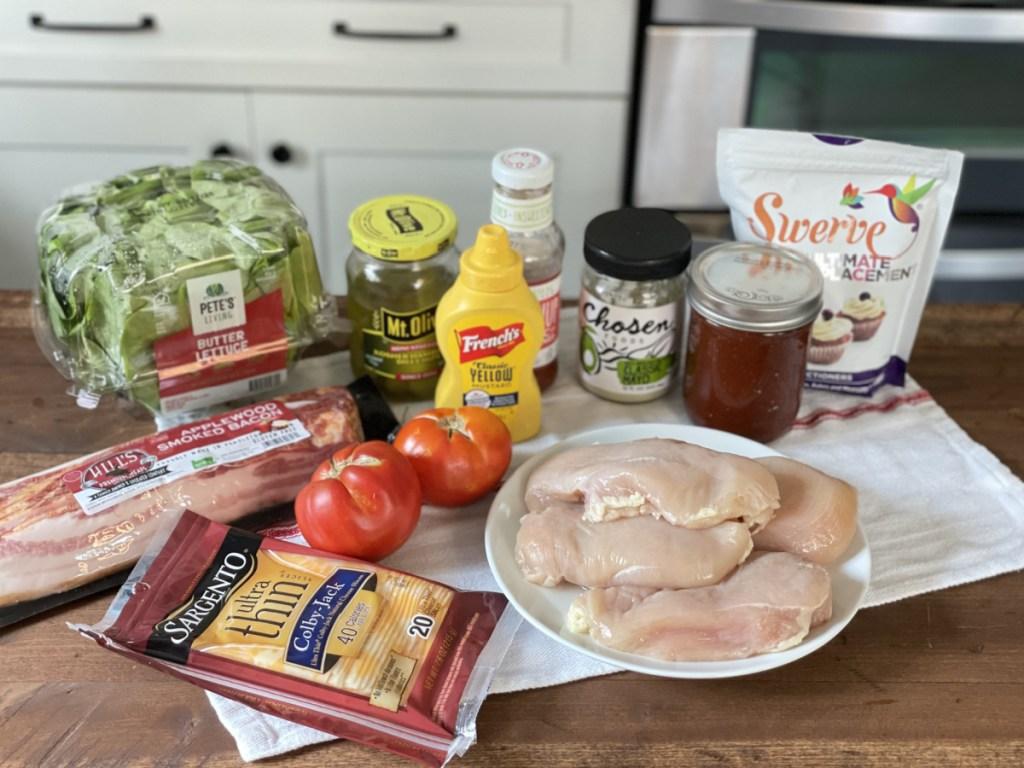 Copycat keto chicken-fil-a grilled chicken sandwich ingredients