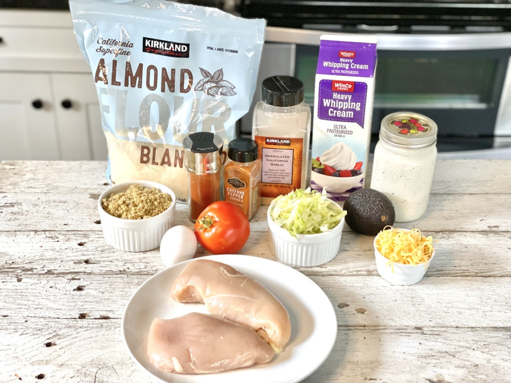 Naked Chicken Chalupa ingredients