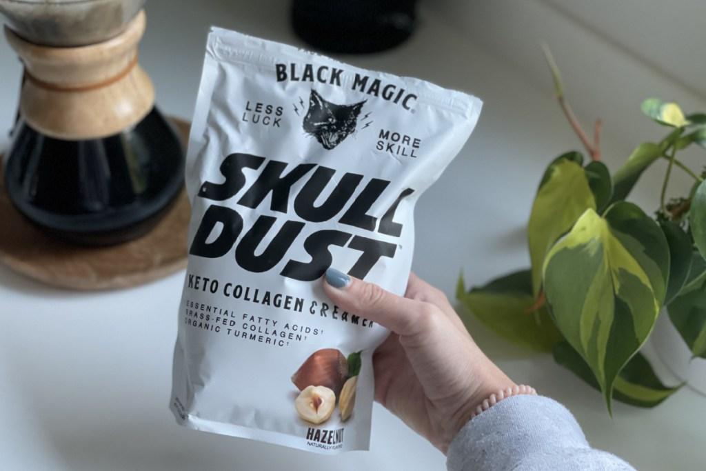 Black Magic Skull Dust keto creamer