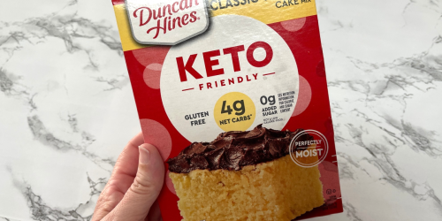 You've Gotta Try These New Duncan Hines Keto Cake & Brownie Mixes