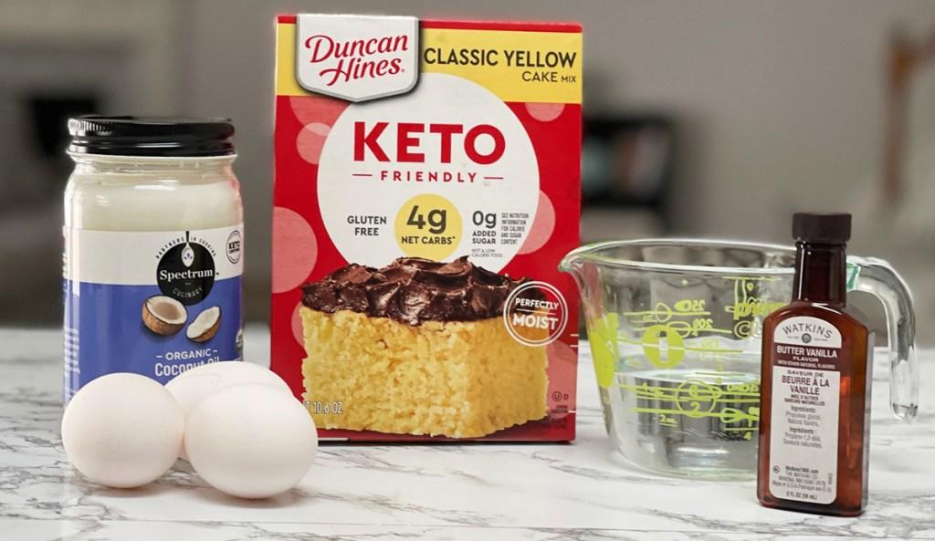 duncan hines keto cake mix