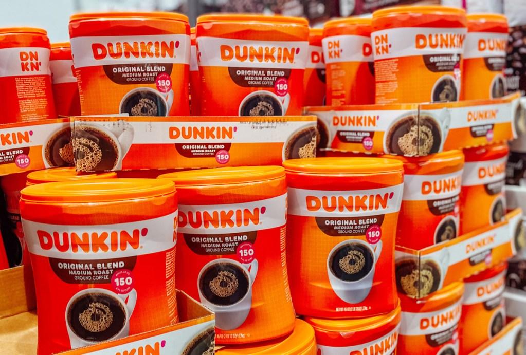 dunkin coffee at costco