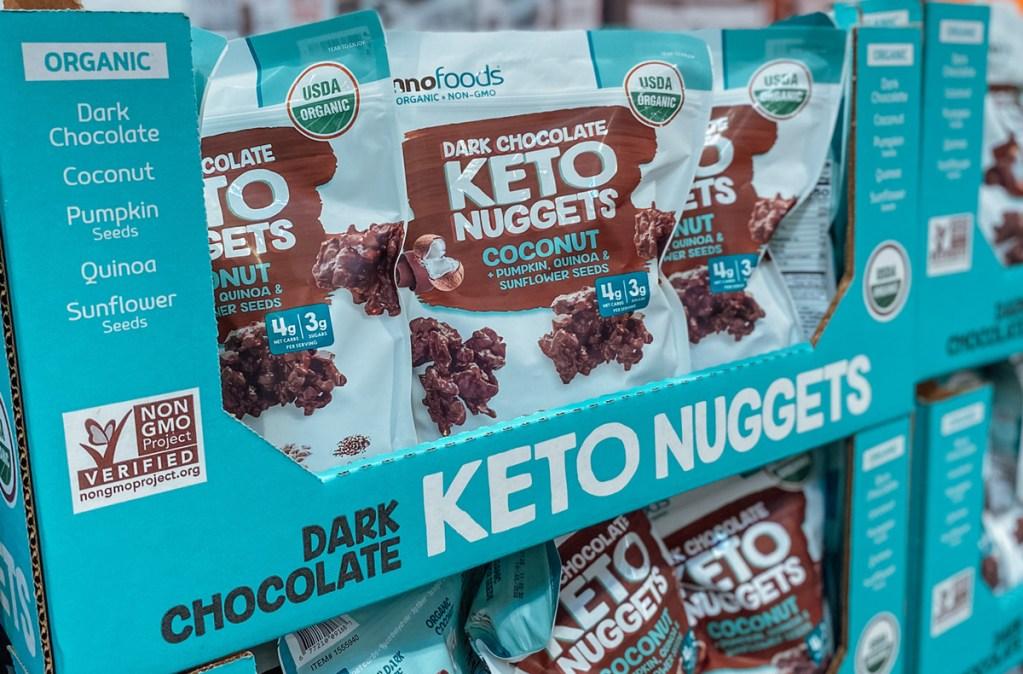 inno foods chocolate keto nuggets