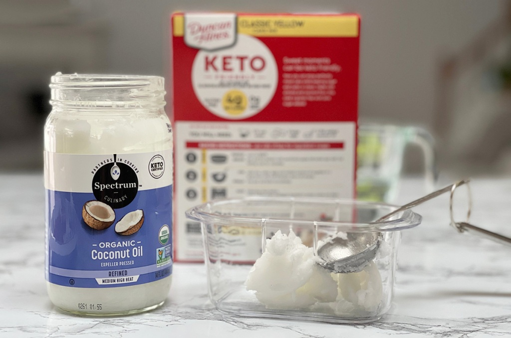 keto cake mix with coconut oil