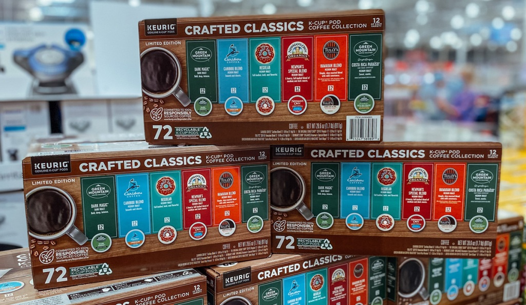 keurig crafted classics kcups