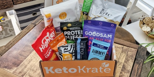 Score The September Keto Krate & Get a Bonus Box FREE!