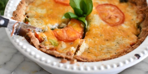 Classic Tomato Pie Is Now Keto-Friendly