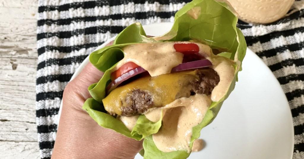 burger with Burger Sauce Recipe
