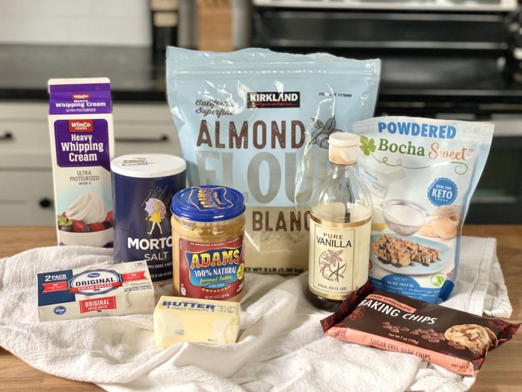 keto peanut butter pie ingredients