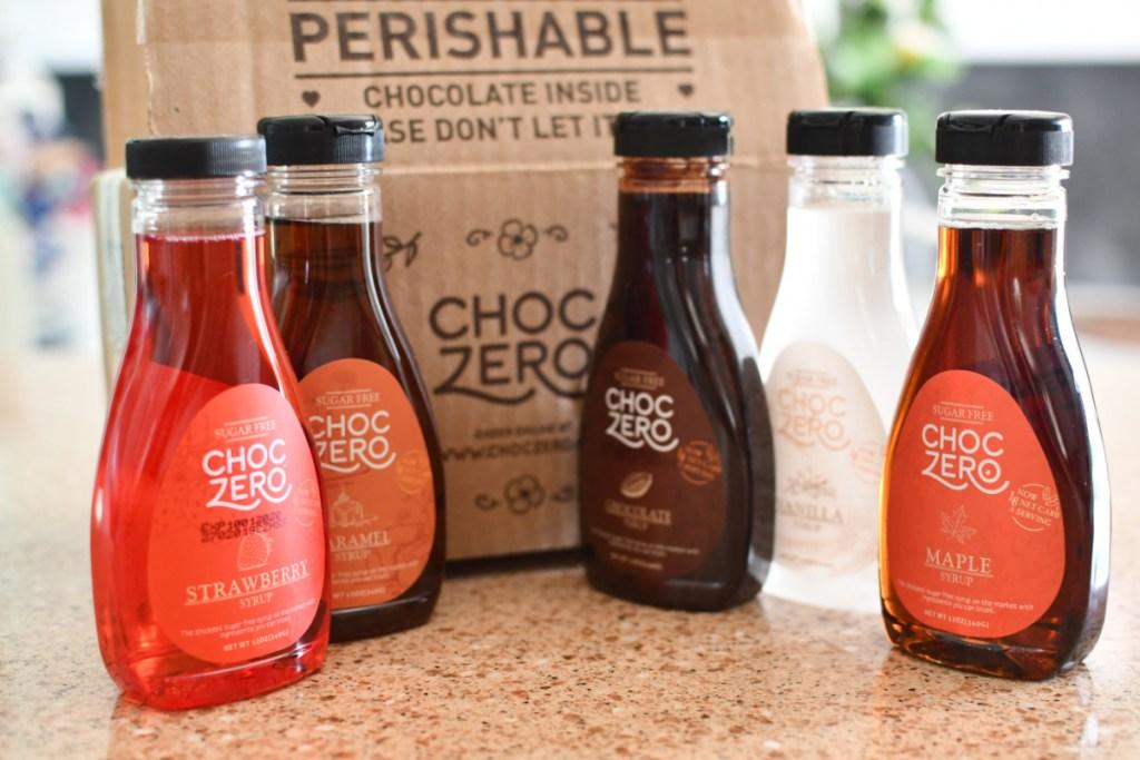 ChocZero syrups