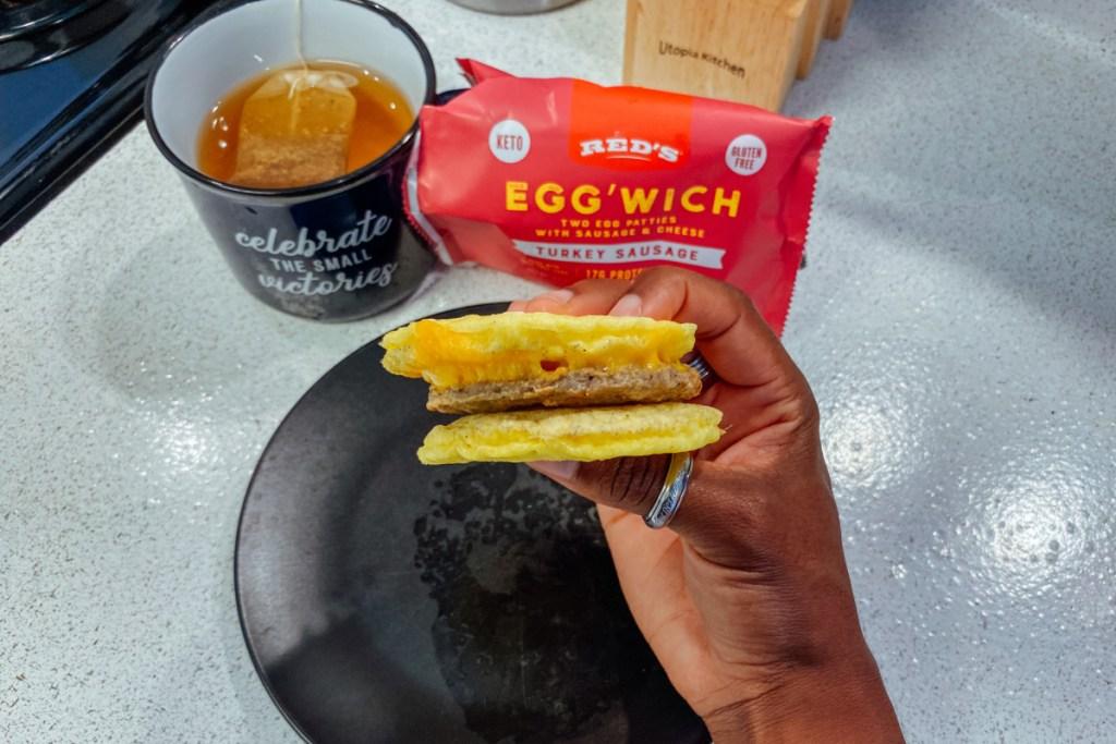 reds eggwich breadless sandwich