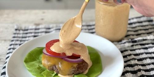 The Tastiest Keto Burger Sauce Recipe Ever!