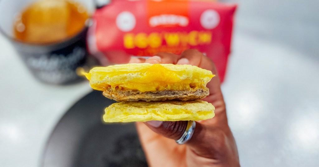 red eggwich sandwich