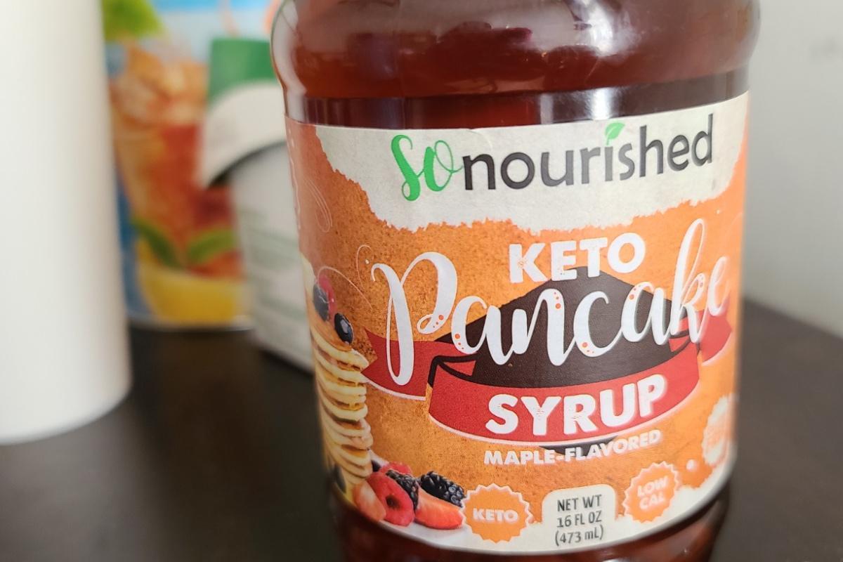 So Nourished keto syrup