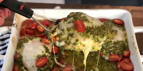 Grilled Chicken Margherita Olive Garden Keto Copycat Recipe